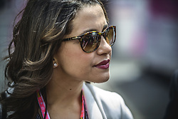 May 13, 2018 - Barcelona, Catalonia, Spain - Catalan opposition leader INES ARRIMADAS in the paddock prior the Spanish GP at Circuit de Barcelona - Catalunya (Credit Image: © Matthias Oesterle via ZUMA Wire)