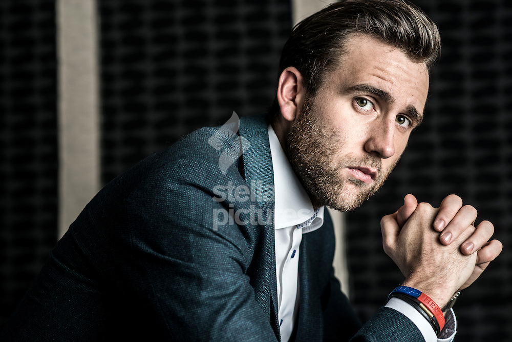 English film, television and stage actor Matthew Lewis pictured at Soho Hotel.<br /> Picture by Daniel Hambury/Stella Pictures Ltd +44 7813 022858<br /> 16/12/2015