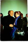 Sir Norman and Lady Foster, Product: Richard Hamilton private view, Gagosian Gallery. London. 13 January 2003.  © Copyright Photograph by Dafydd Jones 66 Stockwell Park Rd. London SW9 0DA Tel 020 7733 0108 www.dafjones.com