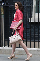 Downing Street, London, June 16th 2015. Secretary of State for Northern Ireland Theresa Villiers arrives at 10 Downing Street for the weekly cabinet meeting.