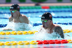 June 23, 2017 - Rome, Italy - Adam Peaty (GBR) and James Wilby (GBR) compete in Men's 100 m Breaststroke during the international swimming competition Trofeo Settecolli at Piscine del Foro Italico in Rome, Italy on June 23, 2017..Photo Matteo Ciambelli / NurPhoto  (Credit Image: © Matteo Ciambelli/NurPhoto via ZUMA Press)