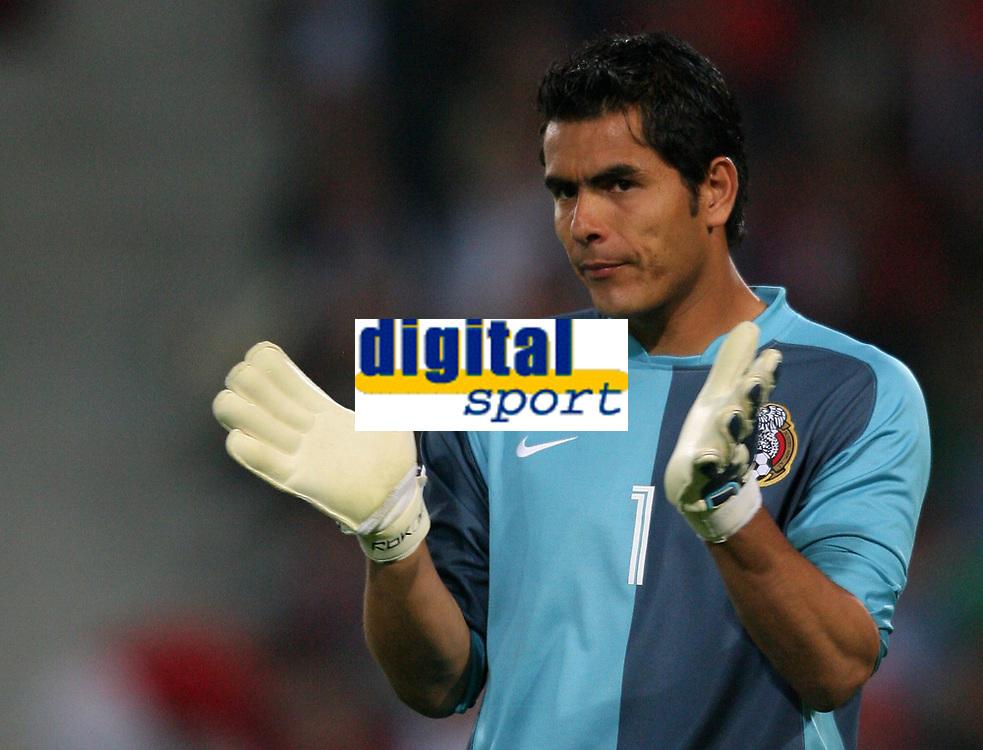 Oswaldo Sanchez Torwart Mexiko<br /> <br /> Fussball WM 2006 Mexiko - Angola<br /> Mexico - Angola<br /> Norway only
