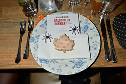 Atmosphere at the Bumpkin Halloween Dinner hosted by Marissa Hermer held at Bumpkin, 119 Sydney Street, London on 23rd October 2014.