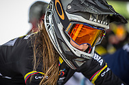 during round 3 of the 2017 UCI BMX  Supercross World Cup in Zolder, Belgium,