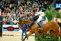 Guerdat Steve, (SUI), Corbinian<br /> Winner of the Longines FEI World Cup Jumping Final III B<br /> © Dirk Caremans