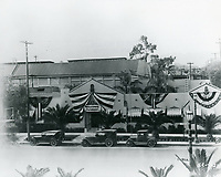 1927 Christie Studios on Sunset Blvd.