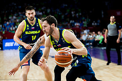 Goran Dragic of Slovenia during basketball match between National Teams of Slovenia and Spain at Day 15 in Semifinal of the FIBA EuroBasket 2017 at Sinan Erdem Dome in Istanbul, Turkey on September 14, 2017. Photo by Vid Ponikvar / Sportida