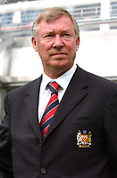 Alex Ferguson (Manchester United Manager) Newcastle United v Manchester United, FA Premiership, 23/08/2003. Credit: Colorsport / Matthew Impey DIGITAL FILE ONLY