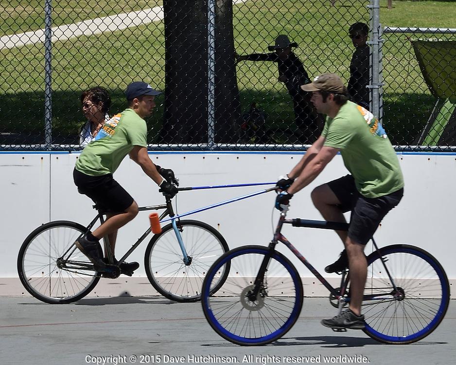 Bike Polo, Gainesville, Florida, USA
