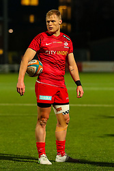 Aled Davies of Saracens  - Mandatory by-line: Nick Browning/JMP - 26/02/2021 - RUGBY - Butts Park Arena - Coventry, England - Coventry Rugby v Saracens - Friendly