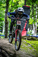 SORIANO Samantha (USA) at the Mountain Bike World Championships in Mont-Sainte-Anne, Canada.