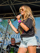 Aubrey Rey performs on the Rising Star Stage during the Citadel Country Spirit USA music festival.<br /> <br /> For three days in August, country music fans celebrated at the Citadel Country Spirit USA music festival, held on the Ludwig's Corner Horse Show Grounds.