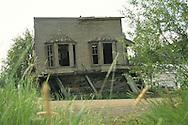 Guns and Ammo building in Dawson City, Yukon