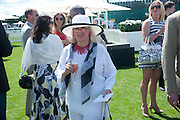 TESSA KENNEDY, Cartier International Polo. Smiths Lawn. Windsor. 24 July 2011. <br /> <br />  , -DO NOT ARCHIVE-© Copyright Photograph by Dafydd Jones. 248 Clapham Rd. London SW9 0PZ. Tel 0207 820 0771. www.dafjones.com.