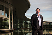 Zak Brown shoot at McLaren in Woking Zak Brown - McLaren - Portrait