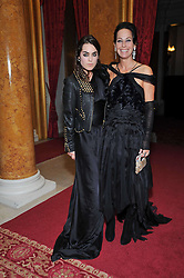 Left to right, TALLULAH ORMSBY-GORE and her mother AMANDA, LADY HARLECH at a party to celebrate 300 years of Tatler magazine held at Lancaster House, London on 14th October 2009.