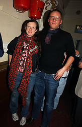 GILES DEACON and KATIE GRAND at the Grand Classics screening of Manhattan hosted by Giles Deacon at the Electric Cinema, Portobello Road, London W11 on 13th November 2006.<br /><br />NON EXCLUSIVE - WORLD RIGHTS