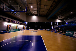 A general view of Ponds Forge Sports Centre, home to Sheffield Sharks - Photo mandatory by-line: Robbie Stephenson/JMP - 13/12/2020 - BASKETBALL - Ponds Forge Sports Centre - Sheffield, England - Sheffield Sharks v Bristol Flyers - British Basketball League Championship