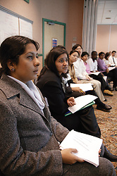Group of doctors attending a doctor's conference,