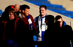 Bristol Rovers fans at Chesterfield - Mandatory by-line: Robbie Stephenson/JMP - 26/11/2016 - FOOTBALL - The Proact Stadium - Chesterfield, England - Chesterfield v Bristol Rovers - Sky Bet League One