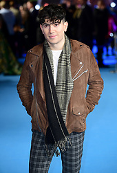 Luke Franks attending the Aquaman premiere held at Cineworld in Leicester Square, London.