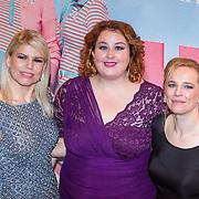 NLD/Amsterdam/20151124 - Premiere Hallo Bungalow, Annemarie Jung, Eva van der Gucht en Lies Visschedijk