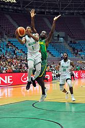 September 15, 2017 - Tunis, Tunisia - Iroegbu Ikenna(1)of Nigeria during the semi-final of FIBA AfroBasket 2017....Afrobasket 2017: Semifinal: Senegal eliminated by Nigeria who find Tunisia in the final  (Credit Image: RealTime Images)