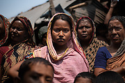 Slums in Khulna. Safina and her family had to leave their village after Hurricane Aila in 2009. Ten years later, they still have not recovered. Yet, like most in slums, they have only one dream: to return to their village.