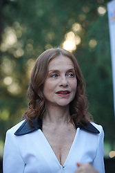 Carlos Saura, Isabelle Huppert attends Prix Dialogo 2018 ceremony at Casa del Monico on June 19, 2018 in Madrid, Spain. 19 Jun 2018 Pictured: Isabelle Hupper. Photo credit: MEGA TheMegaAgency.com +1 888 505 6342