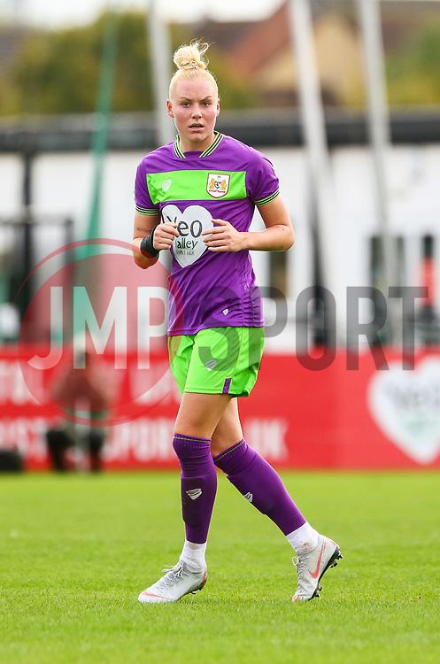Danique Kerkdijk of Bristol City - Mandatory by-line: Ryan Hiscott/JMP - 14/10/2018 - FOOTBALL - Stoke Gifford Stadium - Bristol, England - Bristol City Women v Birmingham City Women - FA Women's Super League 1