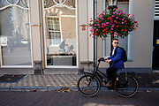 Fietsers in Utrecht.<br /> <br /> Cyclists in Utrecht.