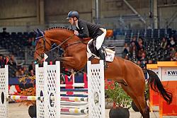 Houben Laurens, NED, Invictus<br /> KWPN Stallionshow - 's Hertogenbosch 2018<br /> © Hippo Foto - Dirk Caremans<br /> 01/02/2018