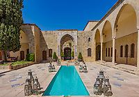 Mir Amin Palace Hotel  Beit ed-Dine in mount Lebanon Middle east