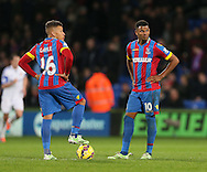 Crystal Palace's Fraizer Campbell looks on dejected after going 3-1 down<br /> <br /> - Barclays Premier League - Crystal Palace vs Sunderland- Selhurst Park - London - England - 3rd November 2014  - Picture David Klein/Sportimage