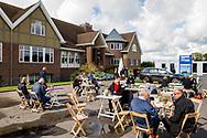 15-09-2017 - Foto van het KLM Open 2017 gespeeld op The Dutch in Spijk.. Bezoekers