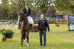 Moors Carmen, BEL, Très Chique van Visa Versa Z<br /> Nationaal Kampioenschap LRV <br /> Paarden - Lummen 2020<br /> © Hippo Foto - Dirk Caremans<br /> 26/09/2020