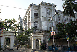 Presidency University previously Presidency college at college street in Kolkata. College street is the largest book market in the country and is one of the most important and recognised places in the city. India is going through the 2nd phase of lockdown due to covid 19 pandemic. This is to curb the spread of Covid 19 in the country. The second phase is handled with more strict rules by the administration. Kolkata, West Bengal, India, April 19, 2020. Photo by Arindam Mukherjee/ABACAPRESS.COM