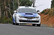 Dean Herridge & Chris Murphy .2008 Subaru Impreza STI .Day 1.Targa Wrest Point 2009.Southern Tasmania.31st of January 2009.(C) Joel Strickland Photographics.