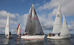 Largs Regatta Festival 2018<br /> <br /> Day 1 - CYC Class 3 with Cool Bandit and Vendaval<br /> <br /> Images: Marc Turner