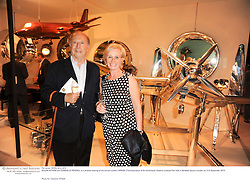 EDGAR ASTAIRE and GABRIELLE RENDELL at a preview evening of the annual London LAPADA (The Association of Art & Antiques Dealers) antiques Fair held in Berkeley Square, London on 21st September 2010. *** Local Caption *** Image free to use for 1 year from image capture date as long as image is used in context with story the image was taken.  If in doubt contact us - info@donfeatures.com<br /> EDGAR ASTAIRE and GABRIELLE RENDELL at a preview evening of the annual London LAPADA (The Association of Art & Antiques Dealers) antiques Fair held in Berkeley Square, London on 21st September 2010.