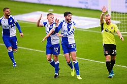 Cian Harries of Bristol Rovers has his goal disallowed - Mandatory by-line: Dougie Allward/JMP - 03/10/2020 - FOOTBALL - Memorial Stadium - Bristol, England - Bristol Rovers v Northampton Town - Sky Bet League One