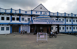 August 21, 2017 - ARUNACHAL PRADESH, INDIA - ARUNACHAL PRADESH, INDIA - AUGUST, 15, 2017 :   General view of the Rama Krishna Mission Hospital where 31-year-old woman was admitted in Itanagar city of Arunachal Pradesh, India.  ....The 31-year-old woman from a remote village was suffering from heavy and painful menstrual cycle from the past few years. The lady had developed multiple benign tumours in her uterus known as Myomas. On August 15, a team of three doctors, successfully removed the tumours weighing 3.3 kgs, keeping her uterus intact.....Pictures Supplied by : Cover Asia Press (Credit Image: © Cover Asia Press/Cover Asia via ZUMA Press)