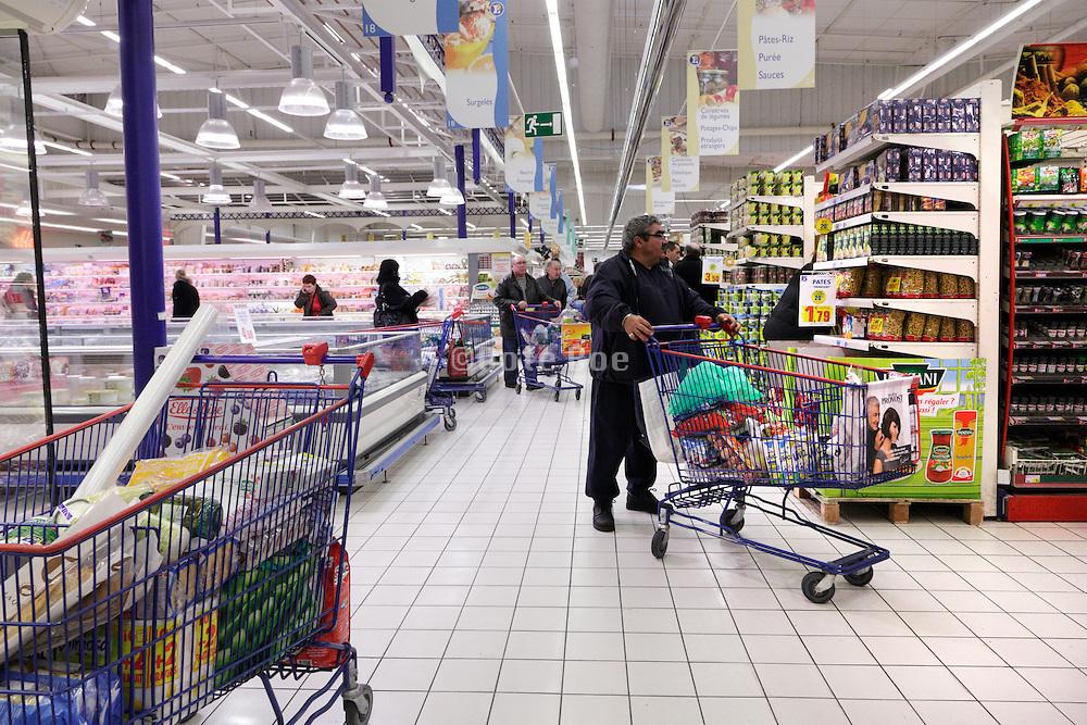 shopping a a supermarket