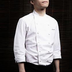 PARIS, FRANCE. APRIL 12, 2011. Chef Shinichi Sato at Passage 53, restaurant. (photo: Antoine Doyen)