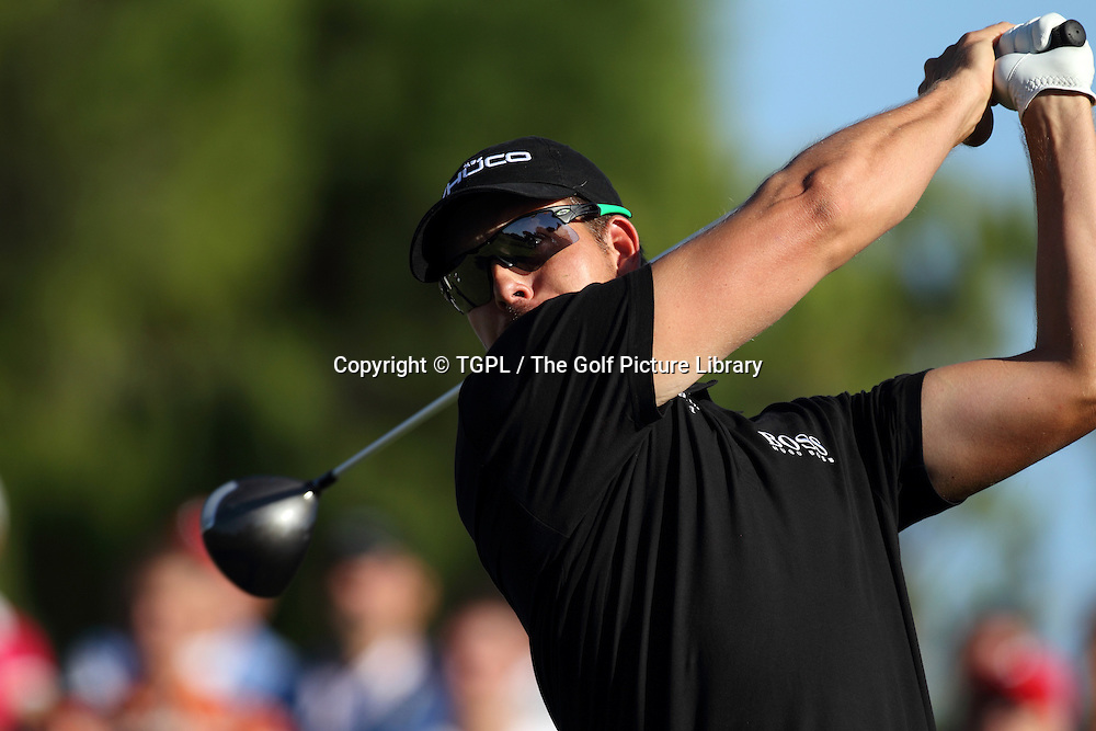 Henrik STENSON (SWE) during third round Turkish Airlines Open by Ministry of Culture and Tourism 2013,Montgomerie Course at Maxx Royal,Belek,Antalya,Turkey.