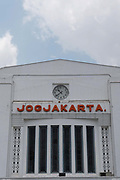 Yogyakarta train station on the 26th October 2019 in Java in Indonesia.