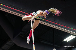 2020 USATF Indoor Championship<br /> Albuquerque, NM 2020-02-15<br /> photo credit: © 2020 Kevin Morris<br /> womens pole vault, Nike
