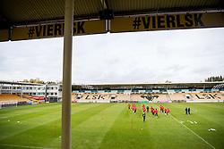 October 9, 2018 - LillestrØM, NORWAY - 181009 General view of Ã…rÃ¥sen Stadion during a training session on October 9, 2018 in Lillestrøm..Photo: Jon Olav Nesvold / BILDBYRÃ…N / kod JE / 160321 (Credit Image: © Jon Olav Nesvold/Bildbyran via ZUMA Press)