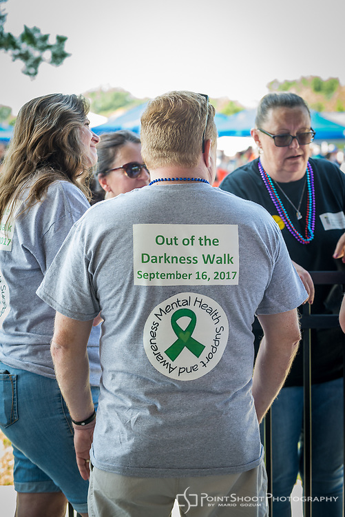 AFSP 2017 Annapolis Out of the Darkness Community Walk. Event photography by Mario Gozum, www.pointshootphoto.com
