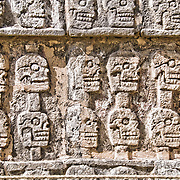 Ancient Mayan ruins at Chichen Itza, Yucatan, Mexico